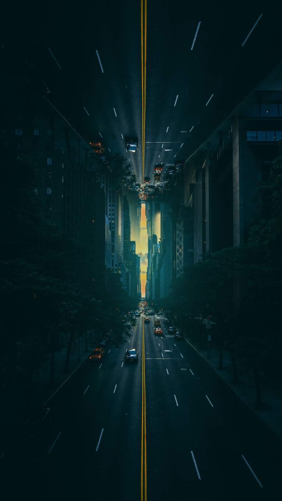 Upside Down City Road
