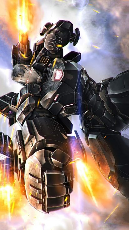War Machine 2021 Armor iPhone Wallpaper