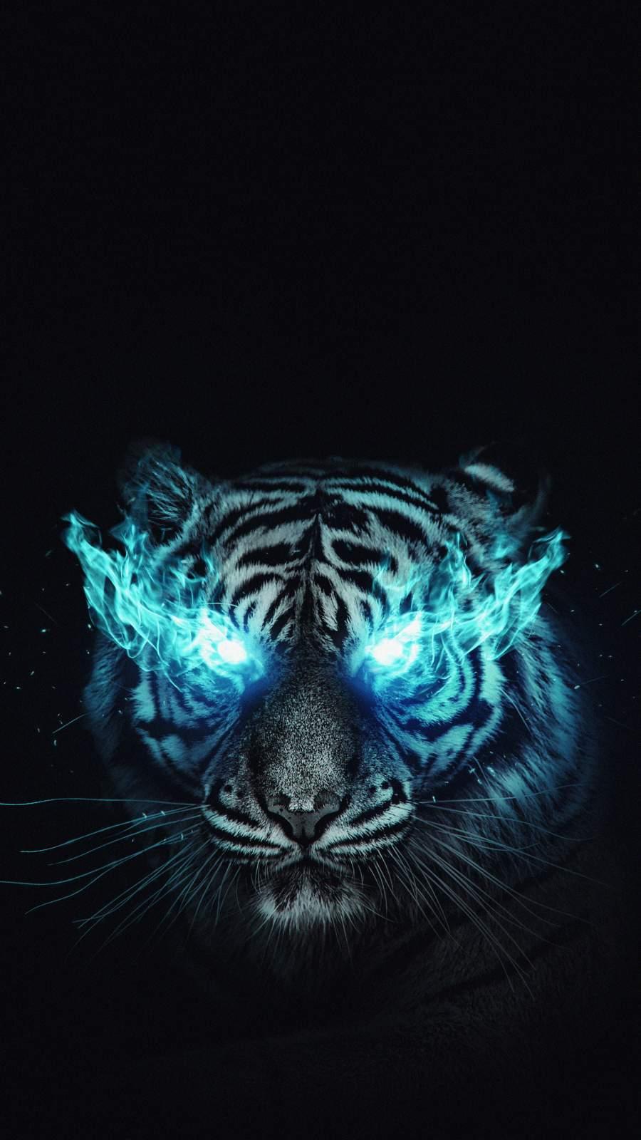White Tiger iPhone Wallpaper