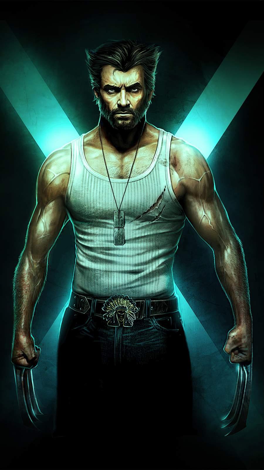 Wolverine Hugh Jackman Art