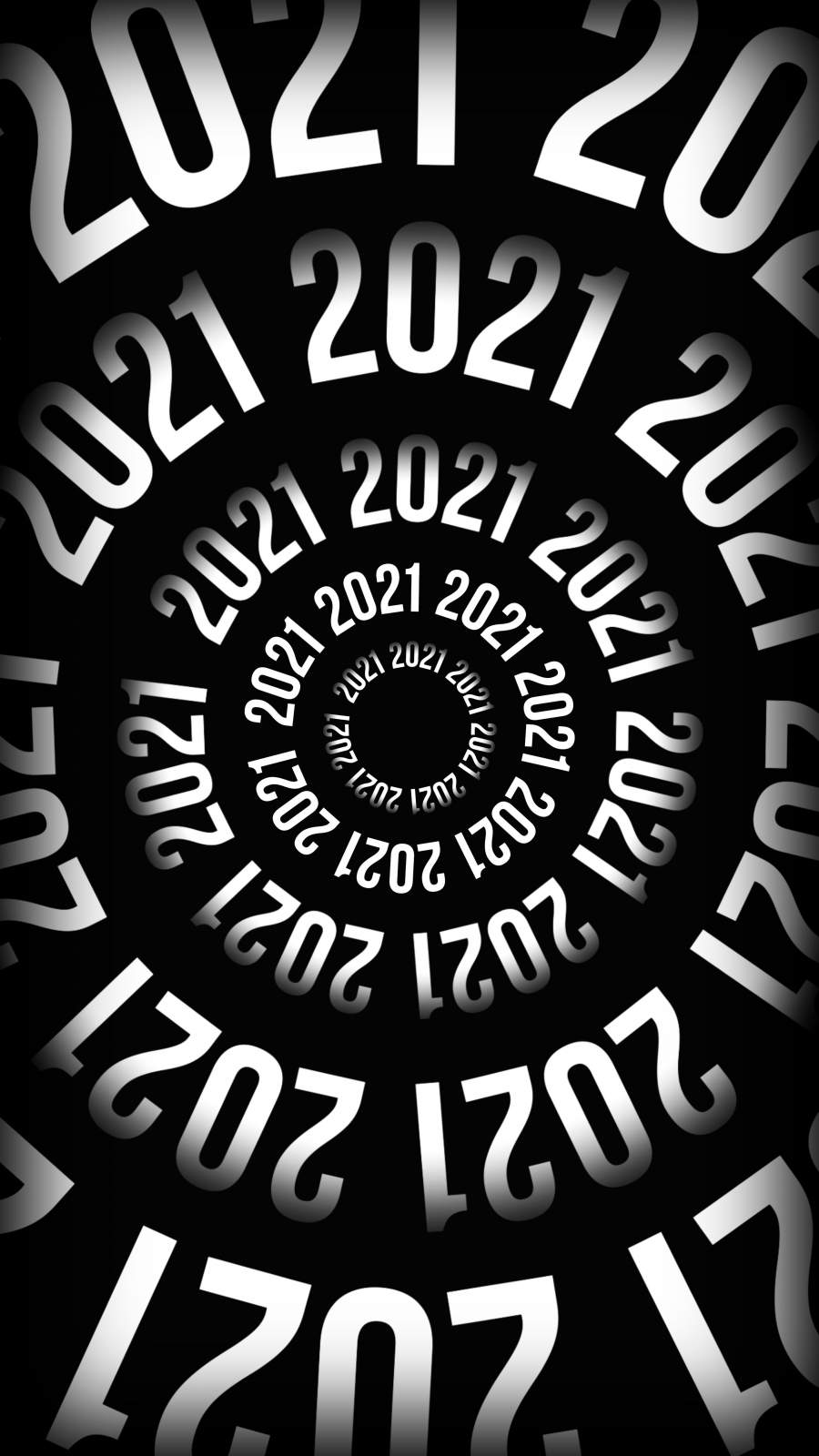 2021 Year iPhone Wallpaper
