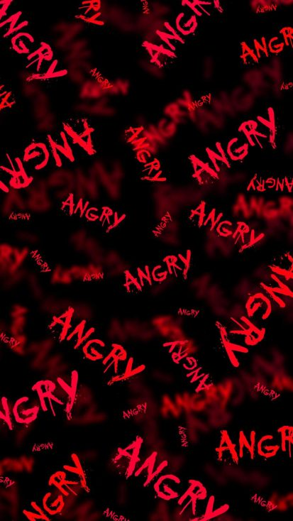 ANGRY iPhone Wallpaper