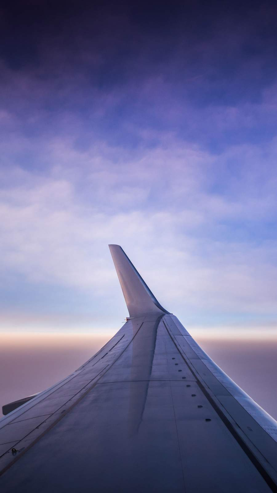 Airplane Wing iPhone Wallpaper