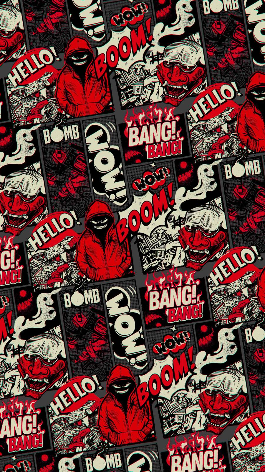 BANG BANG iPhone Wallpaper