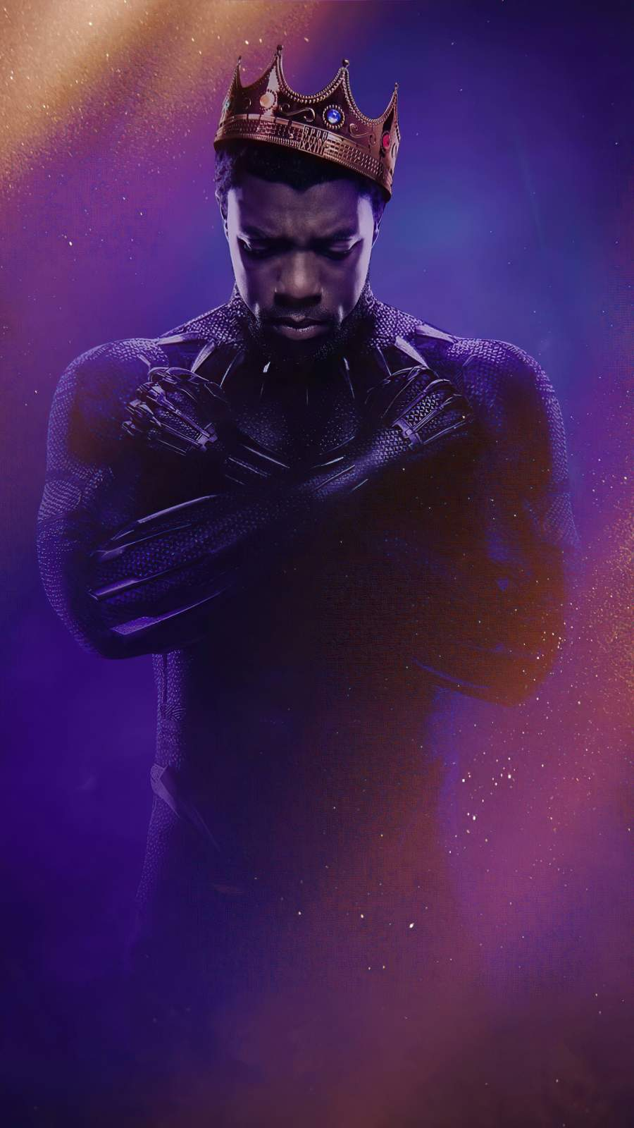 Black Panther Rest in Power iPhone Wallpaper