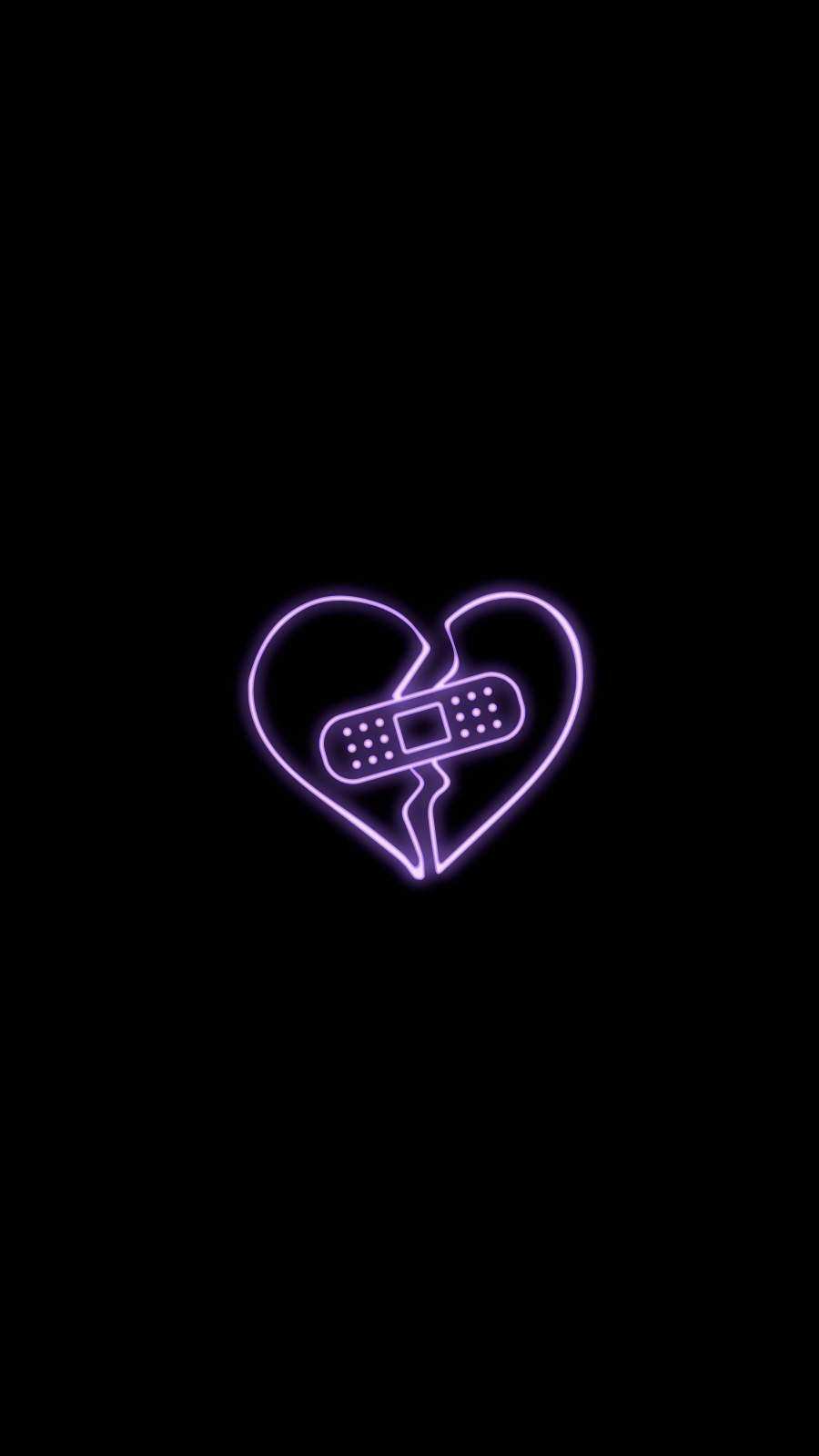 Broken Heart iPhone Wallpaper