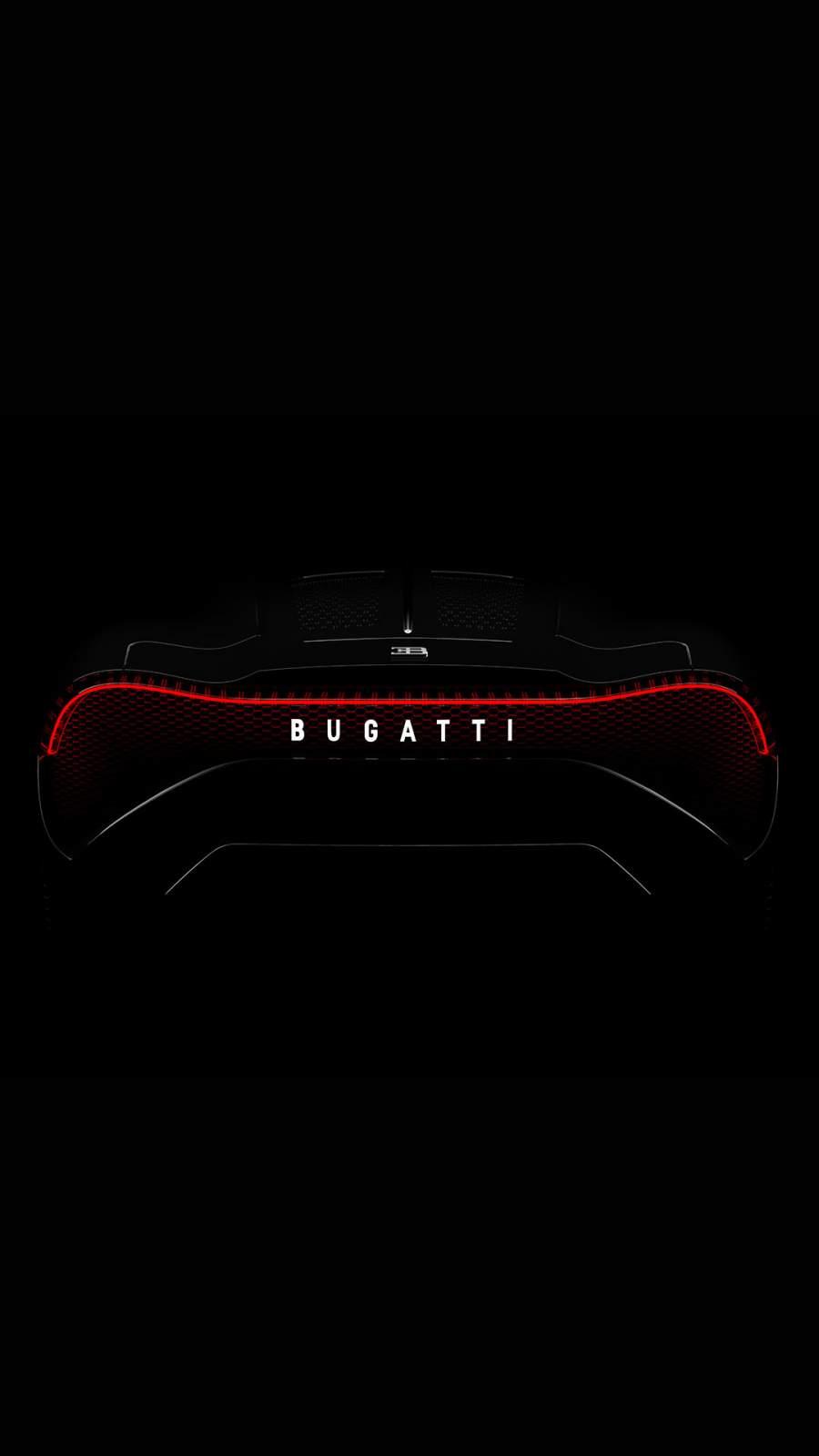 Bugatti Lights iPhone Wallpaper