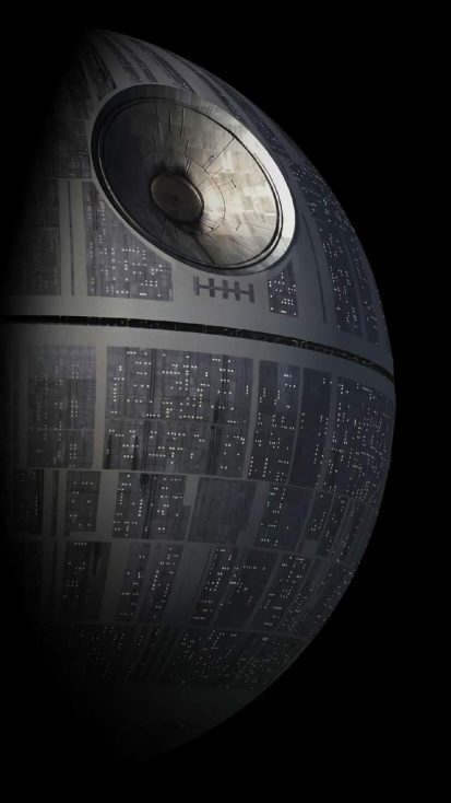Death Star iPhone Wallpaper