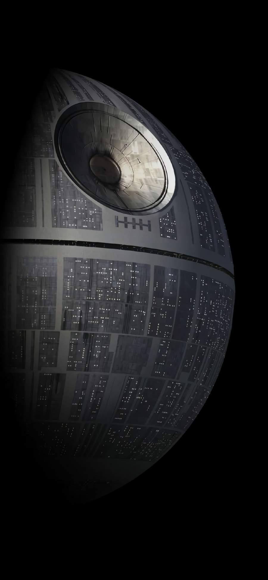 Death Star iPhone Wallpaper