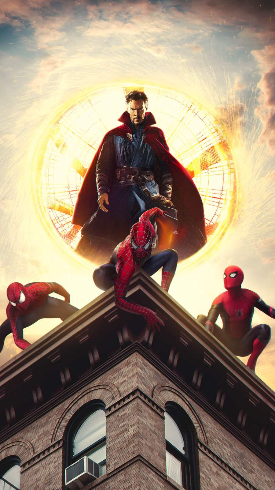 Doctor Strange with Spiderman
