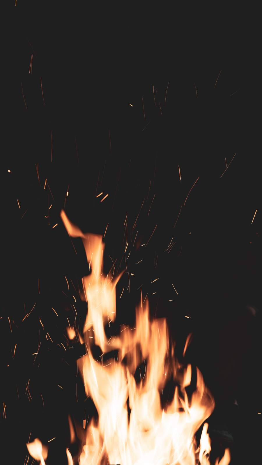 Fire Flame iPhone Wallpaper