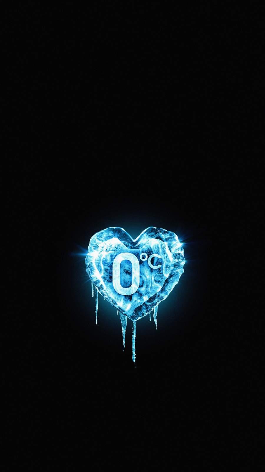 Frozen Heart iPhone Wallpaper