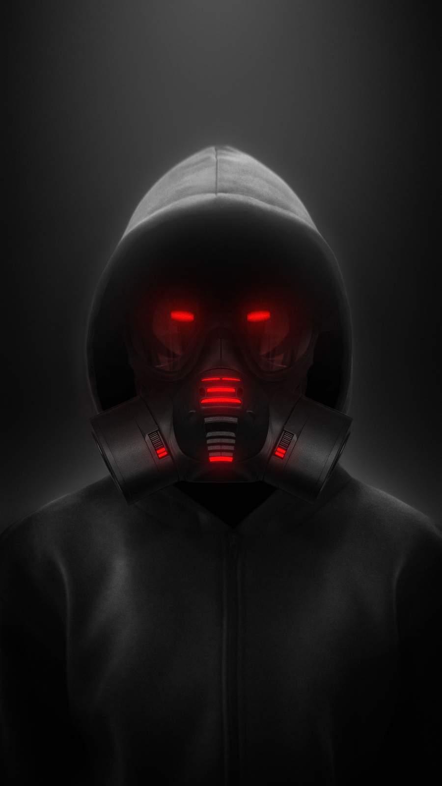 Gas Mask Hoodie Guy