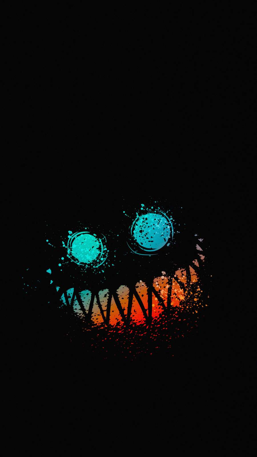 Ghost Smile iPhone Wallpaper