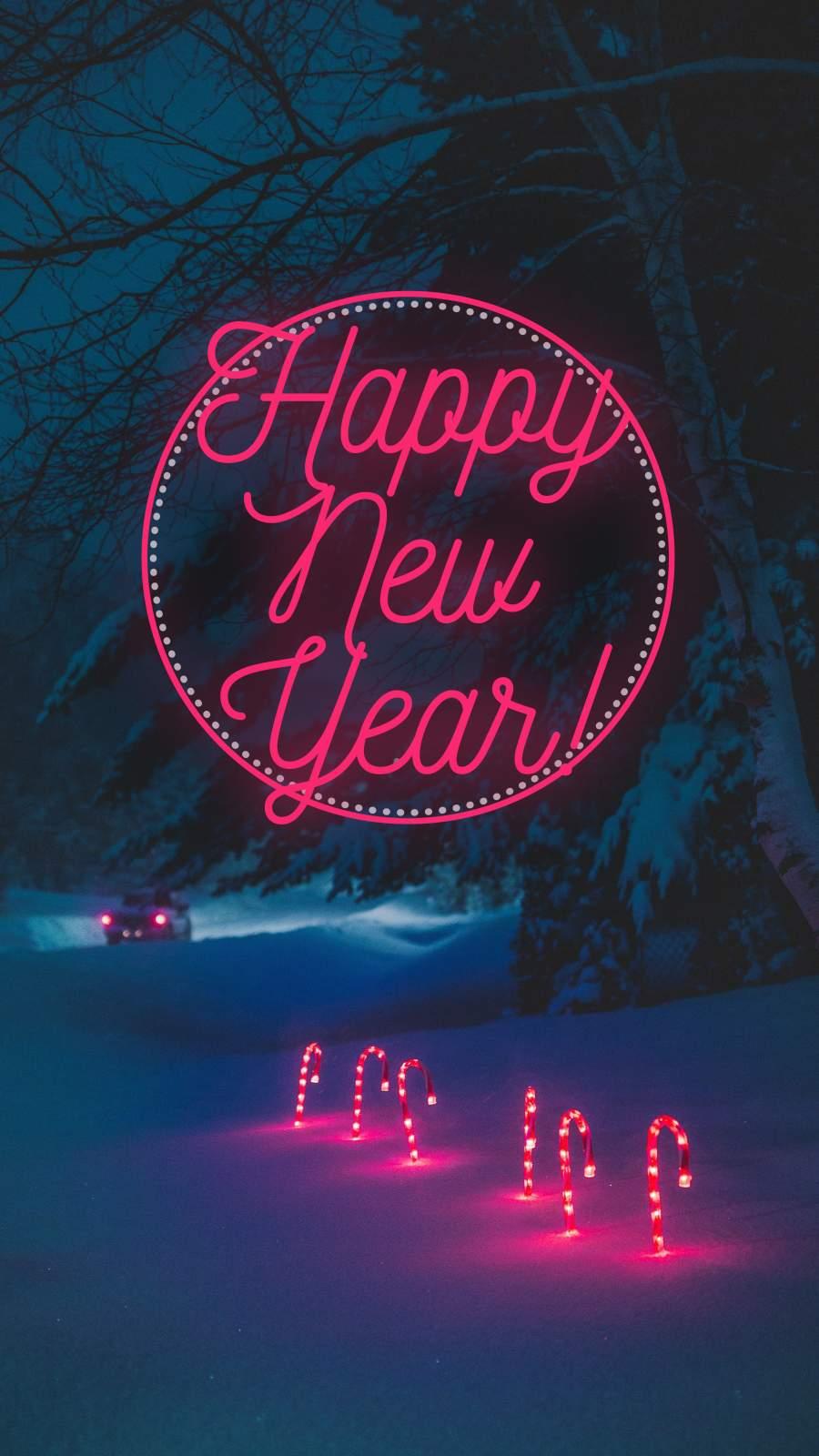 Happy New Year Winter