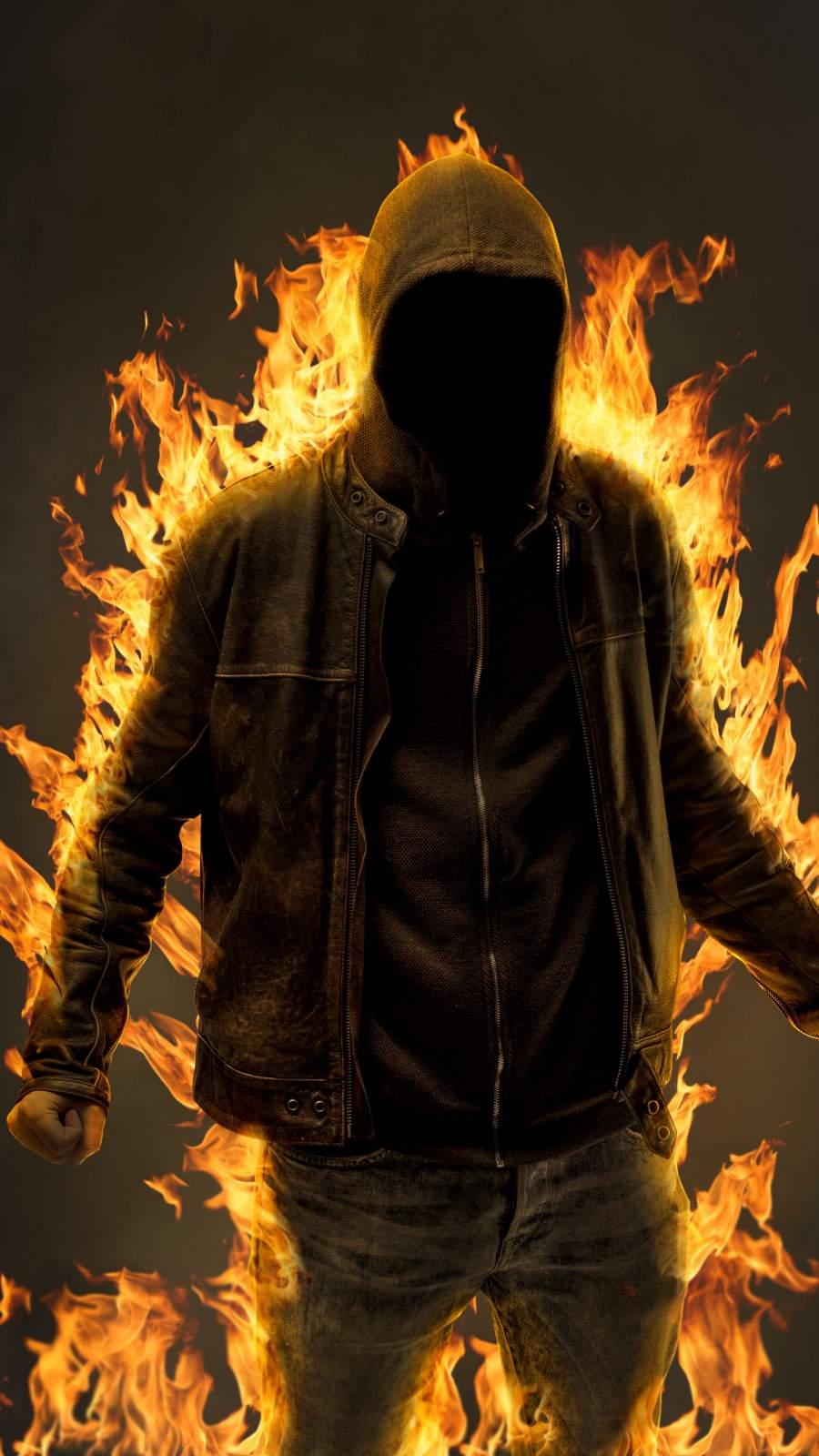 Hoodie Guy Flame