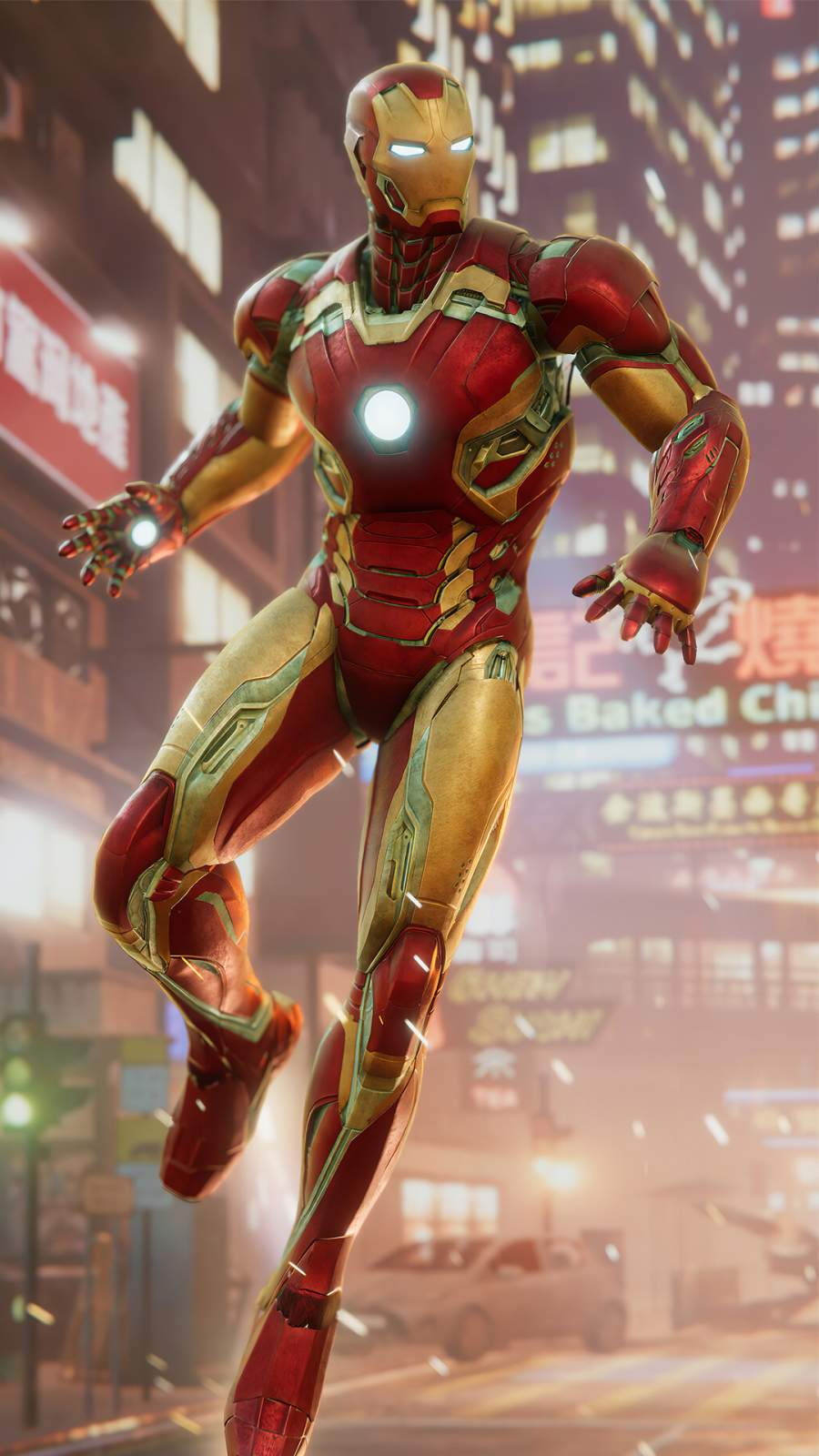 Iron Man Suit 4K iPhone Wallpaper