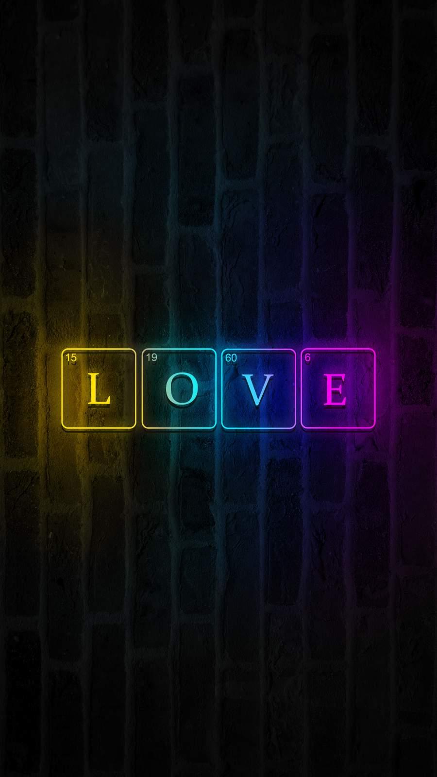 LOVE iPhone Wallpaper