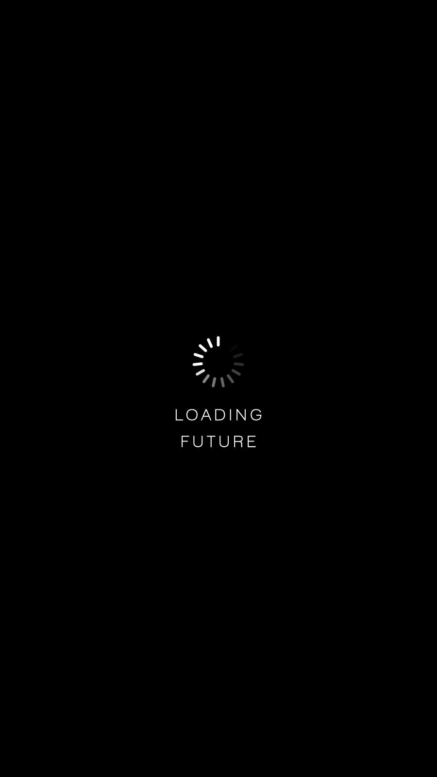 Loading Future iPhone Wallpaper