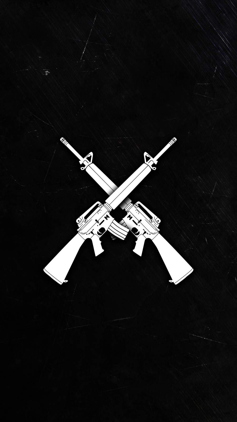 M16 Rifle iPhone Wallpaper