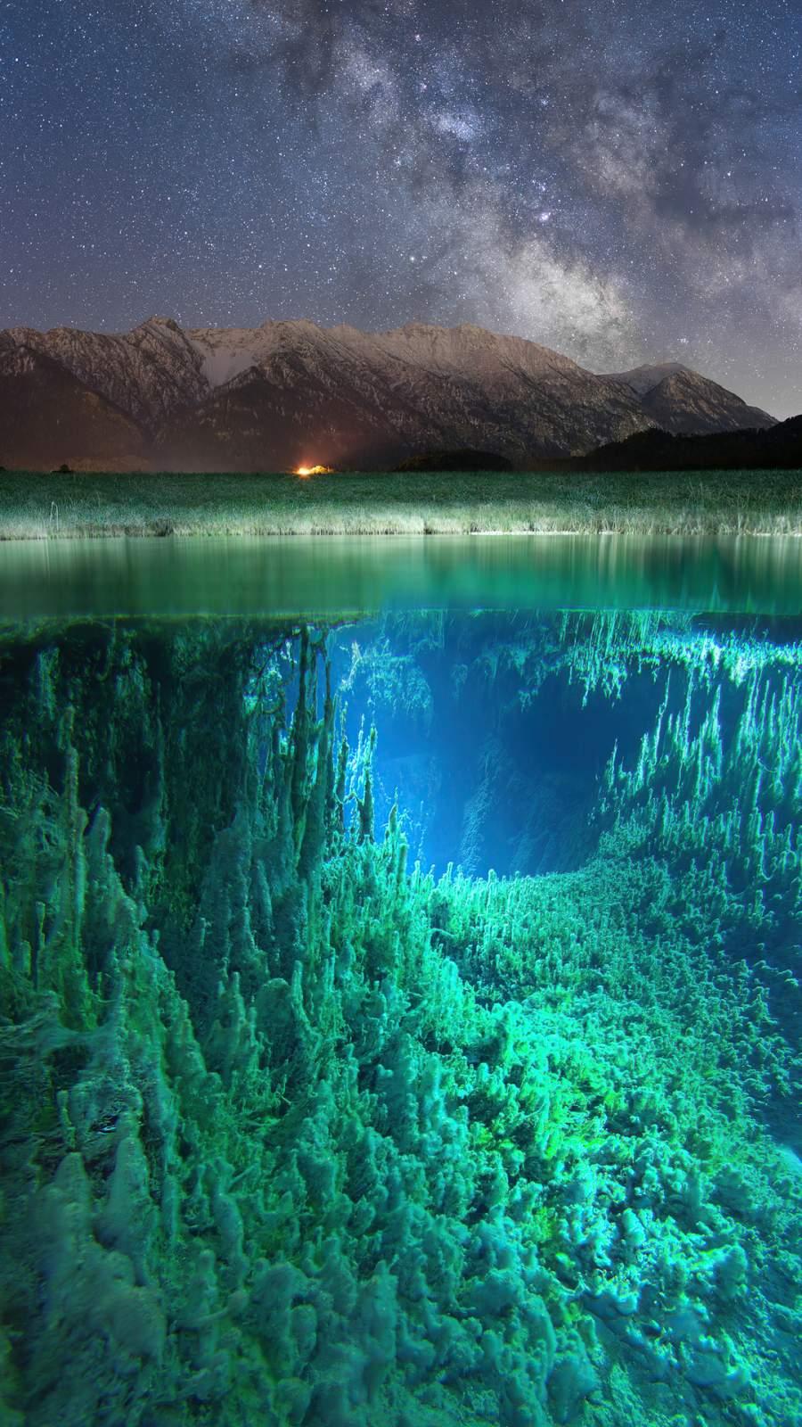 Milkyway Underwater 4K