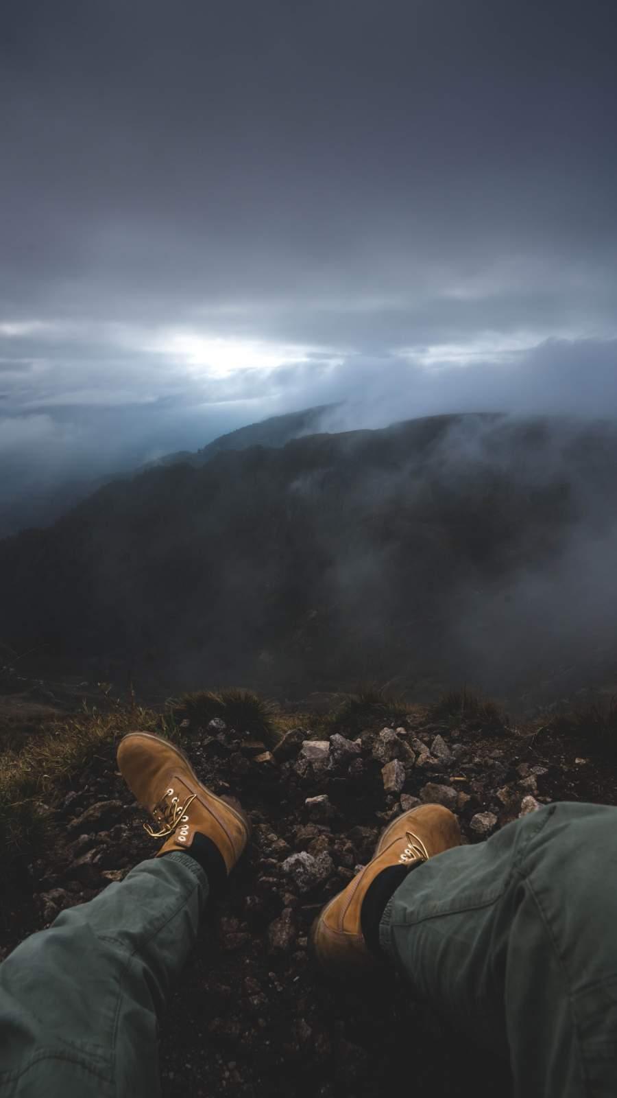 Mountain Adventure iPhone Wallpaper