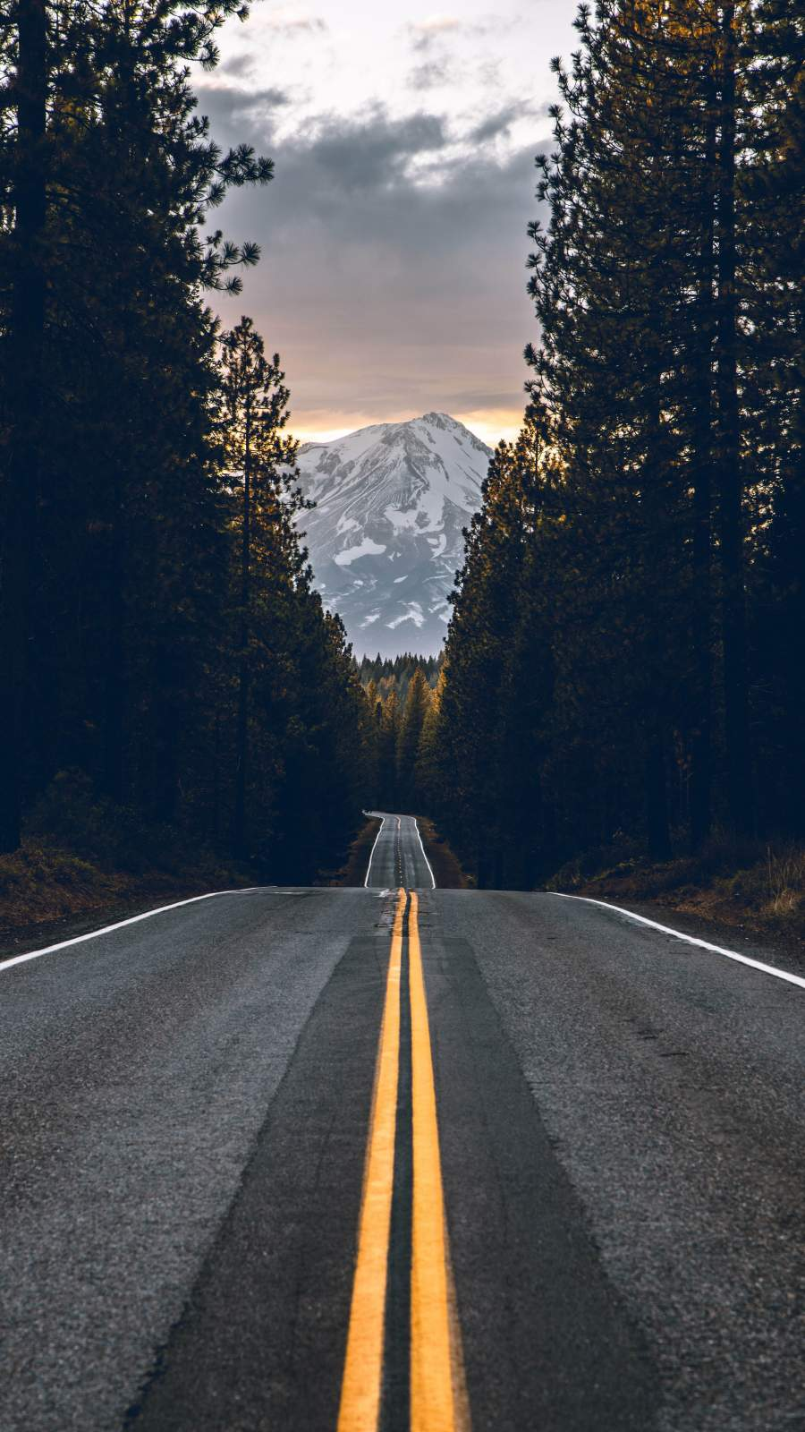 Mountain Roads iPhone Wallpaper