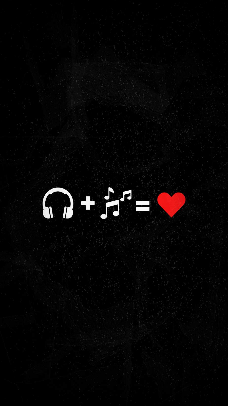 Music is Love iPhone Wallpaper