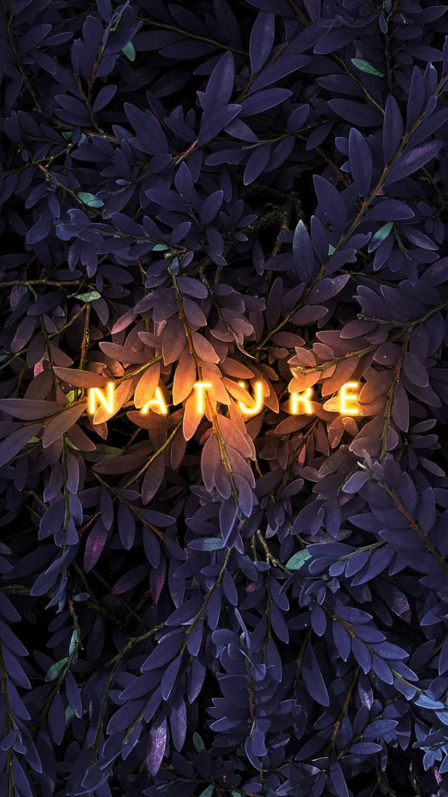 Nature Call iPhone Wallpaper
