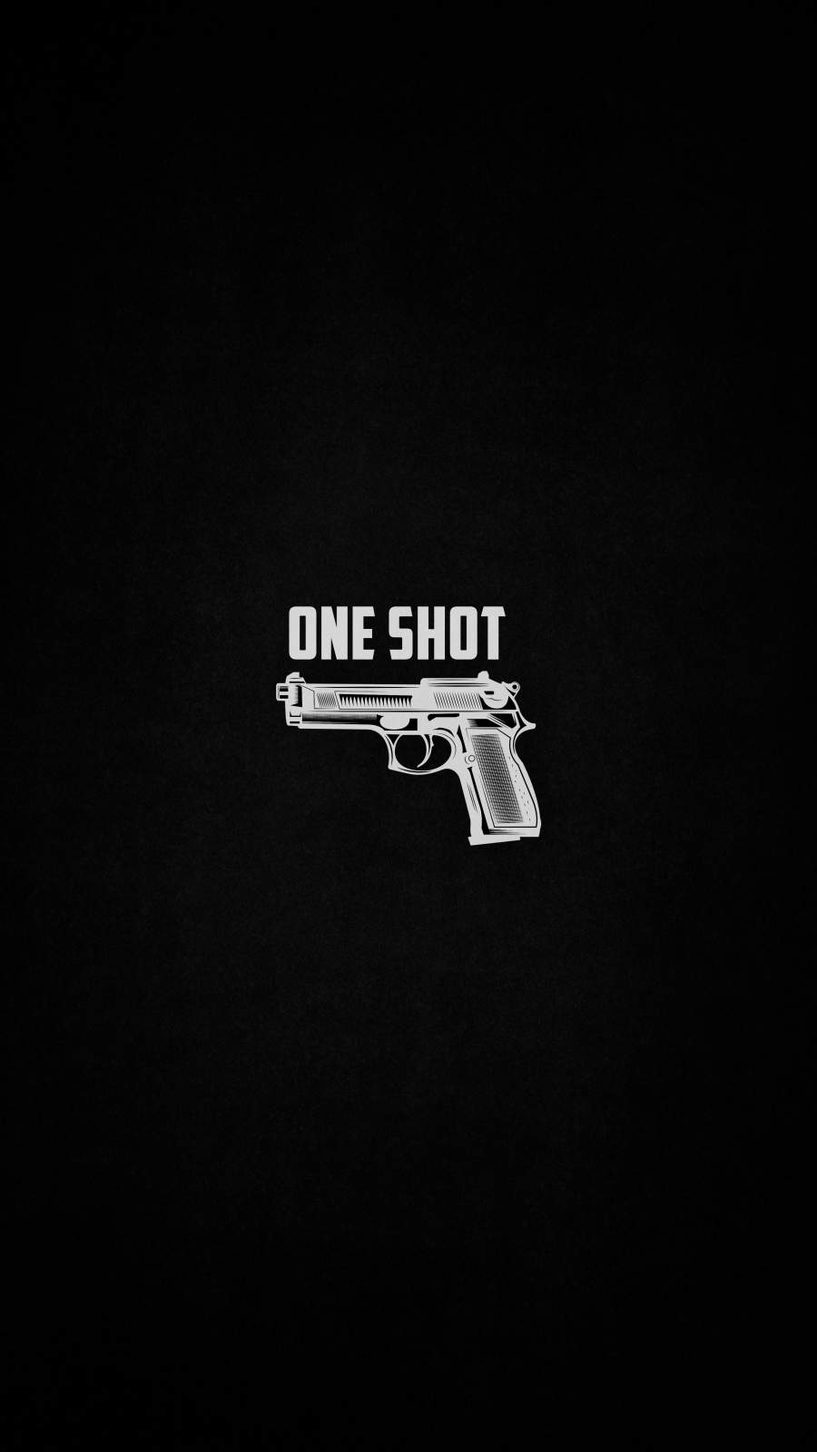 One Shot iPhone Wallpaper