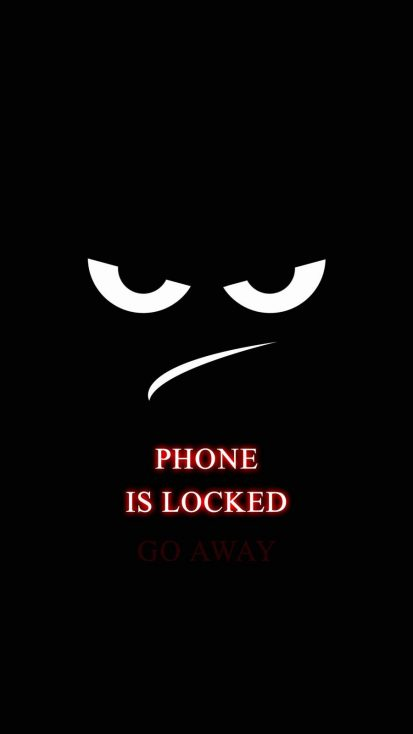Phone is Locked Go Away