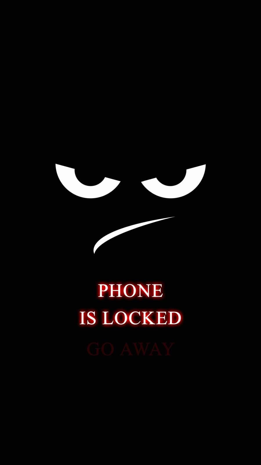 Phone is Locked Go Away