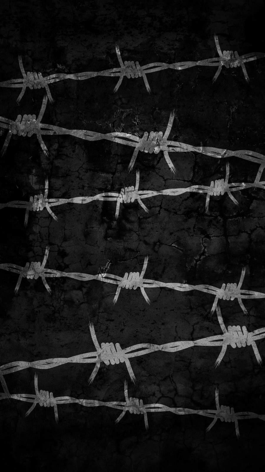 Razor Wire Background