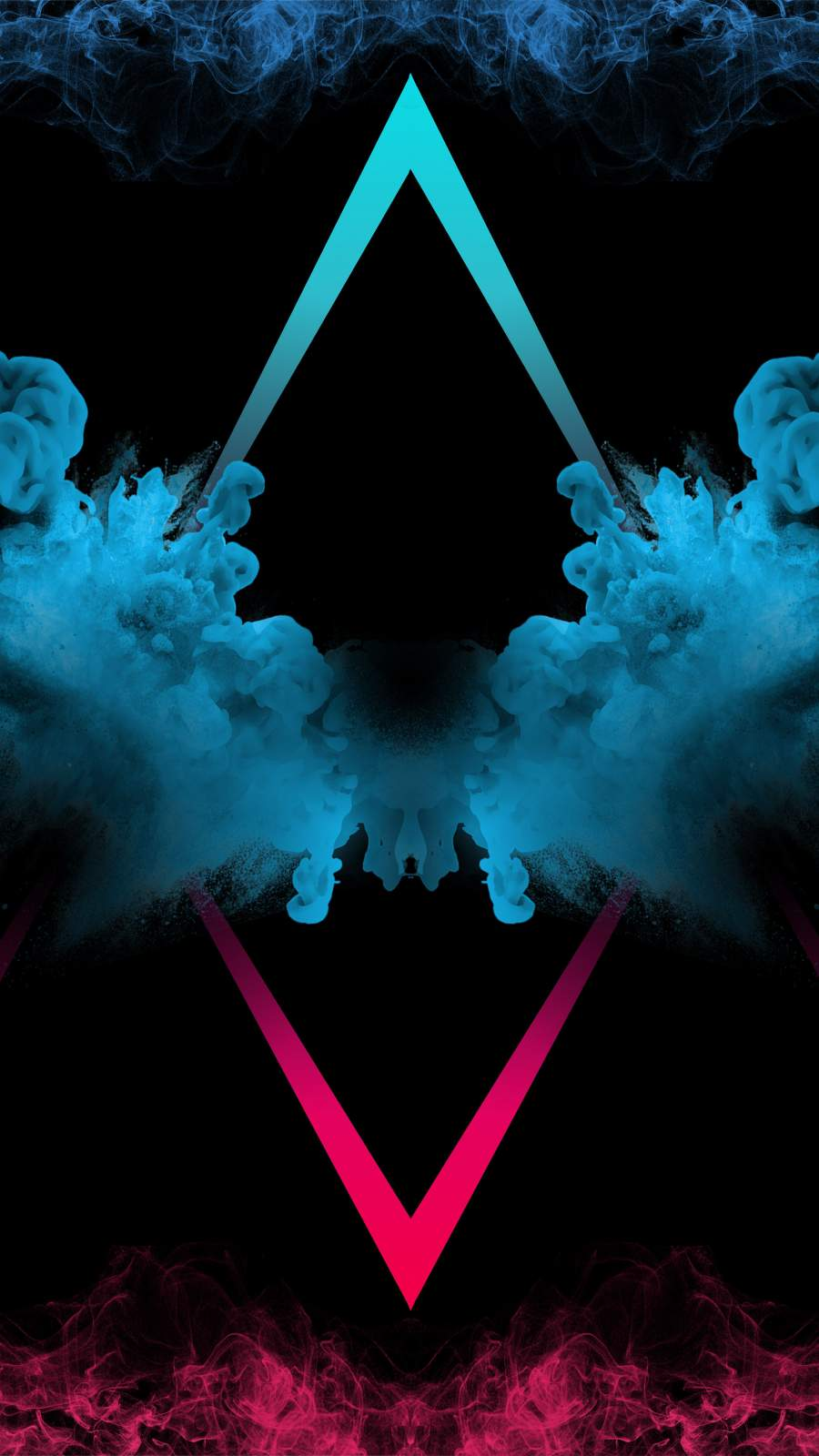 Smoke Art iPhone Wallpaper
