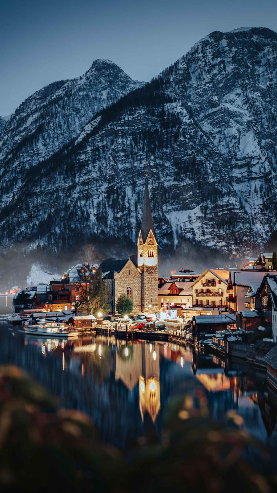 Snow Castle iPhone Wallpaper