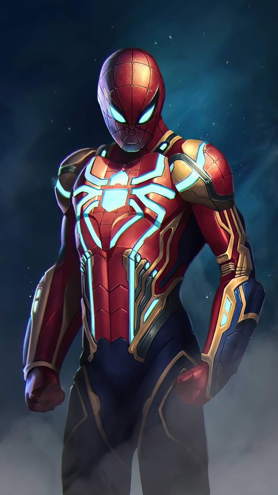 Spider Man New Armor 4K