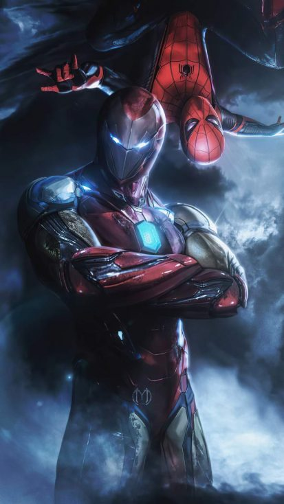 Spiderman Iron Man Mentor