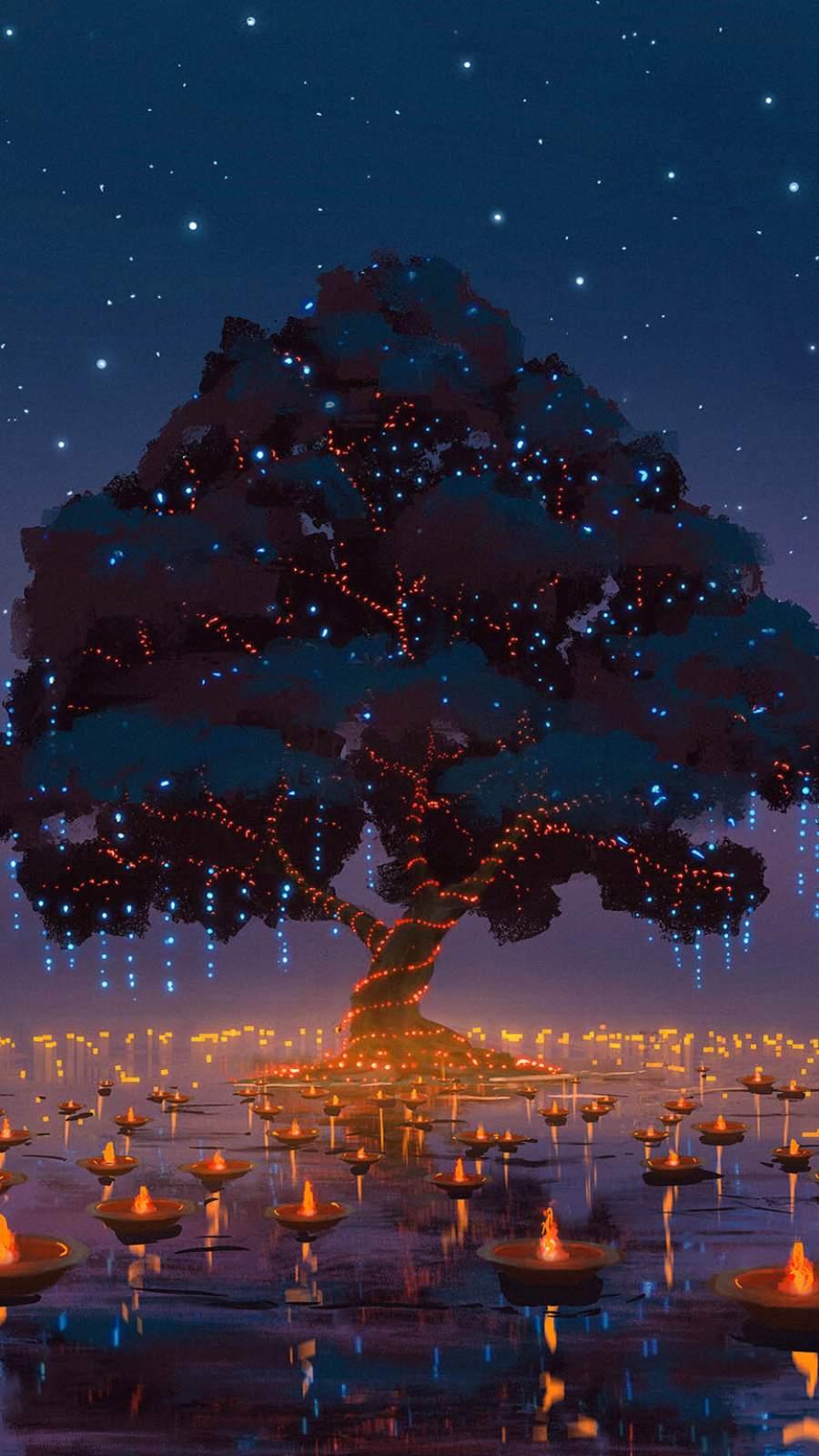 Tree of Life iPhone Wallpaper