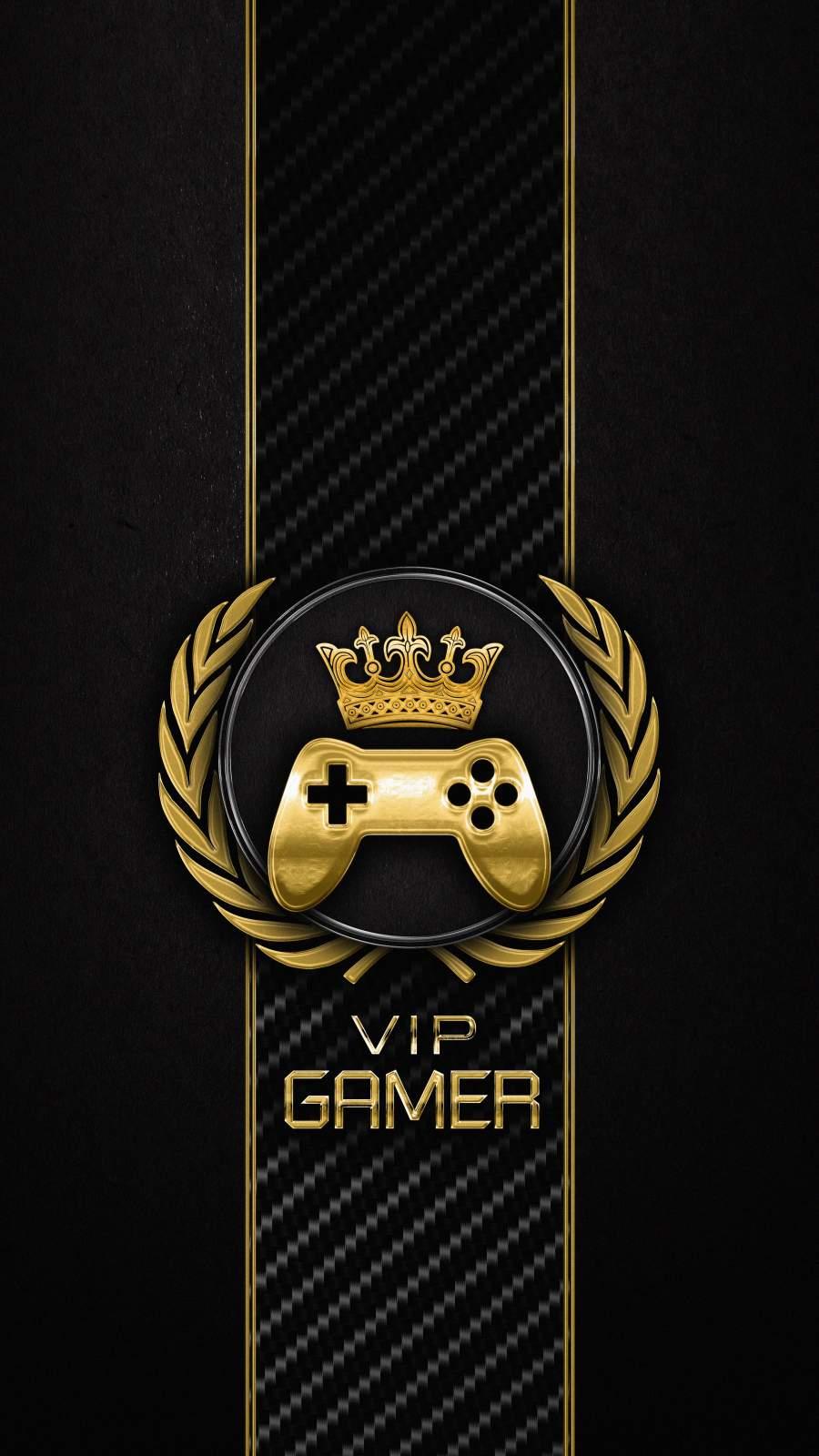 VIP Gamer iPhone Wallpaper