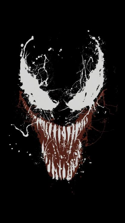 Venom Art 4K iPhone Wallpaper