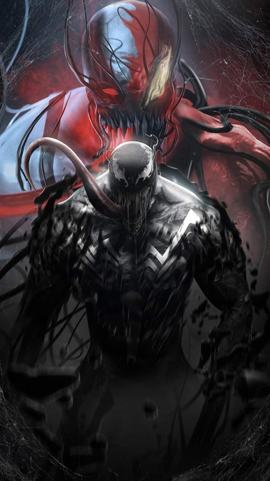 Venom Poster iPhone Wallpaper