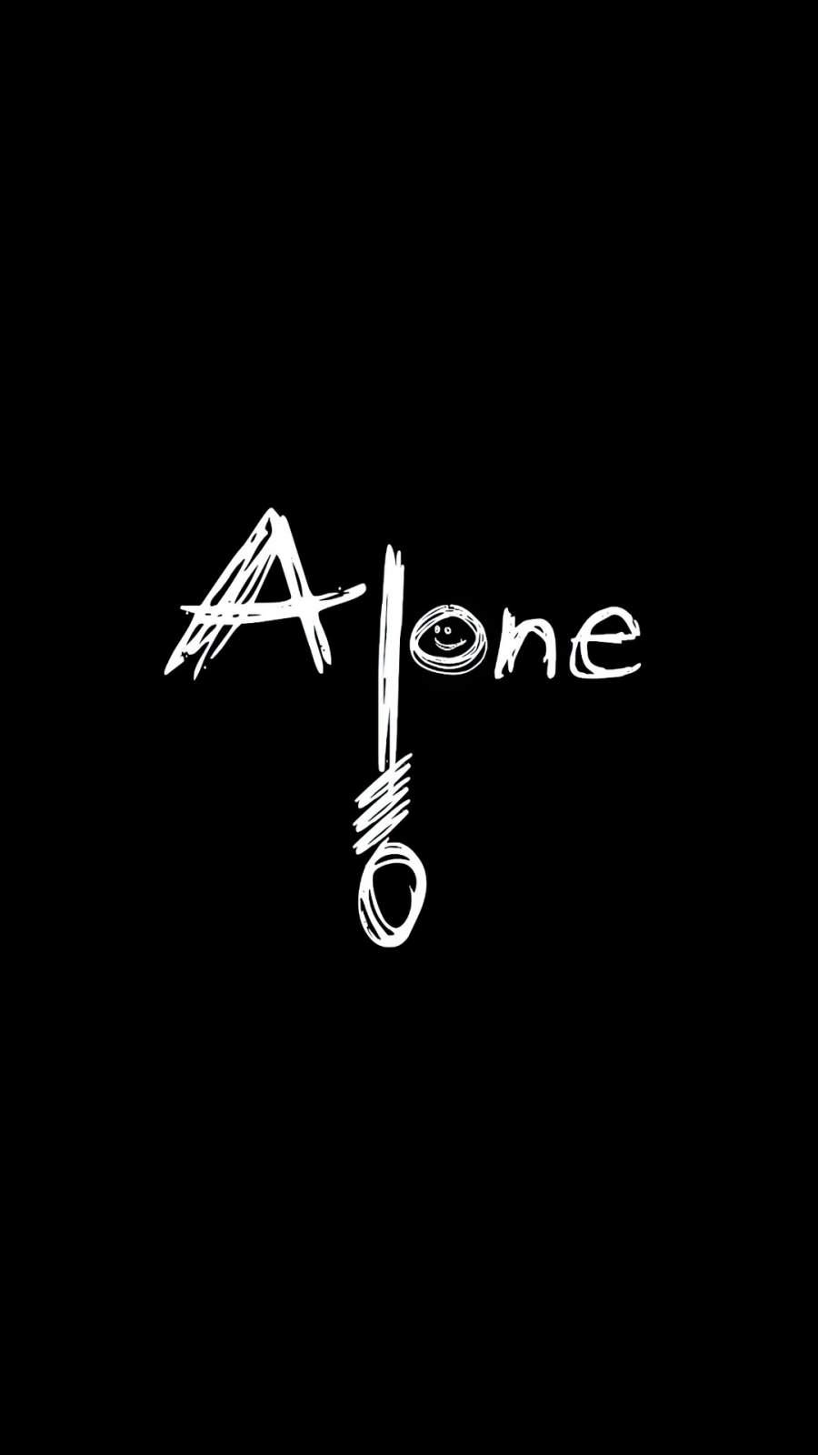 Alone Dark iPhone Wallpaper