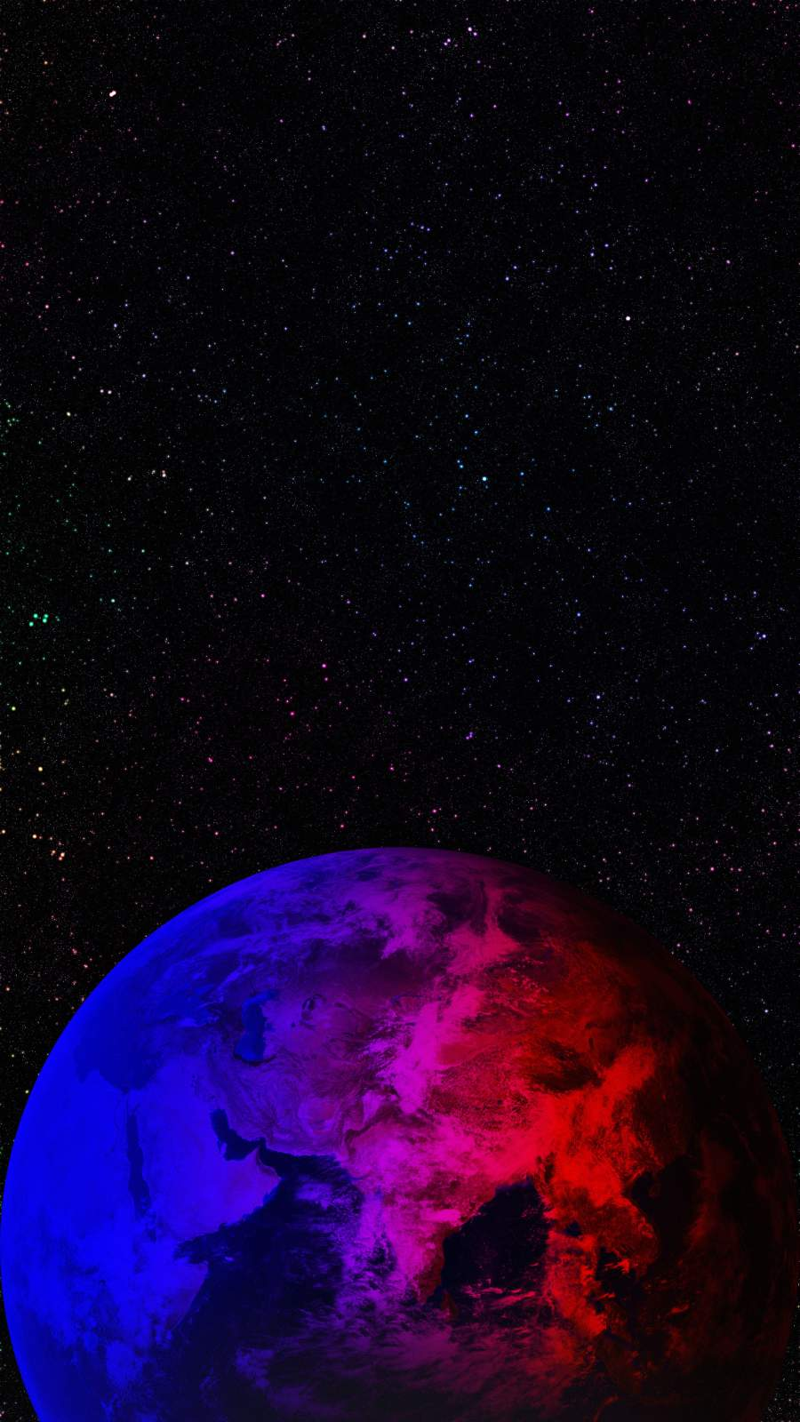 Amoled Earth iPhone Wallpaper