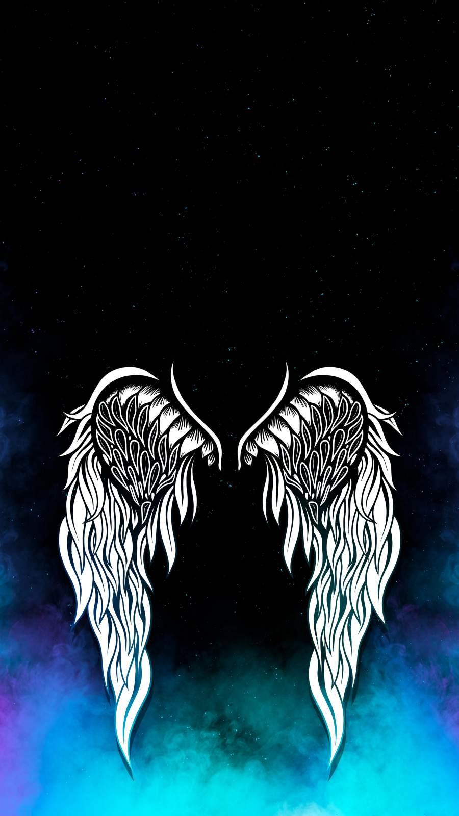 Angel Wings iPhone Wallpaper