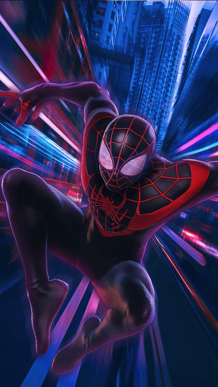 Artwork Spider man miles