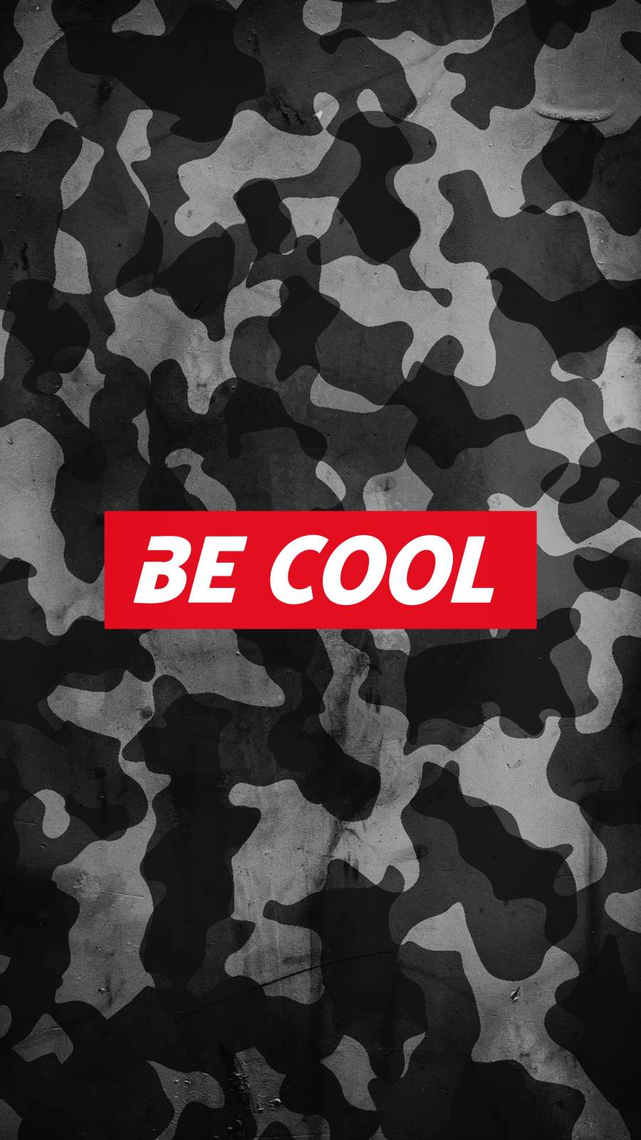 Be Cool iPhone Wallpaper