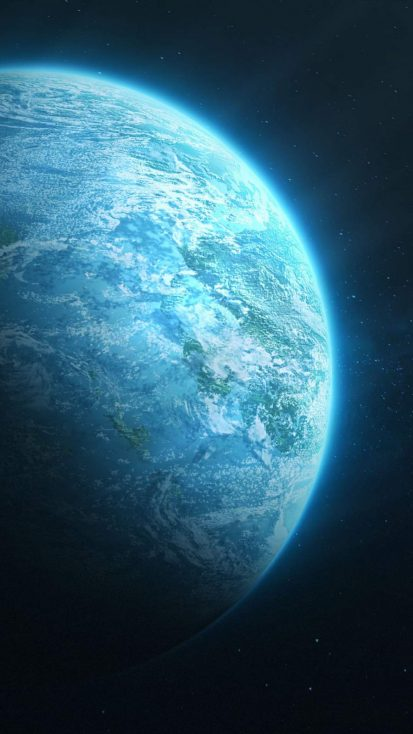 Blue Planet Space View 4k
