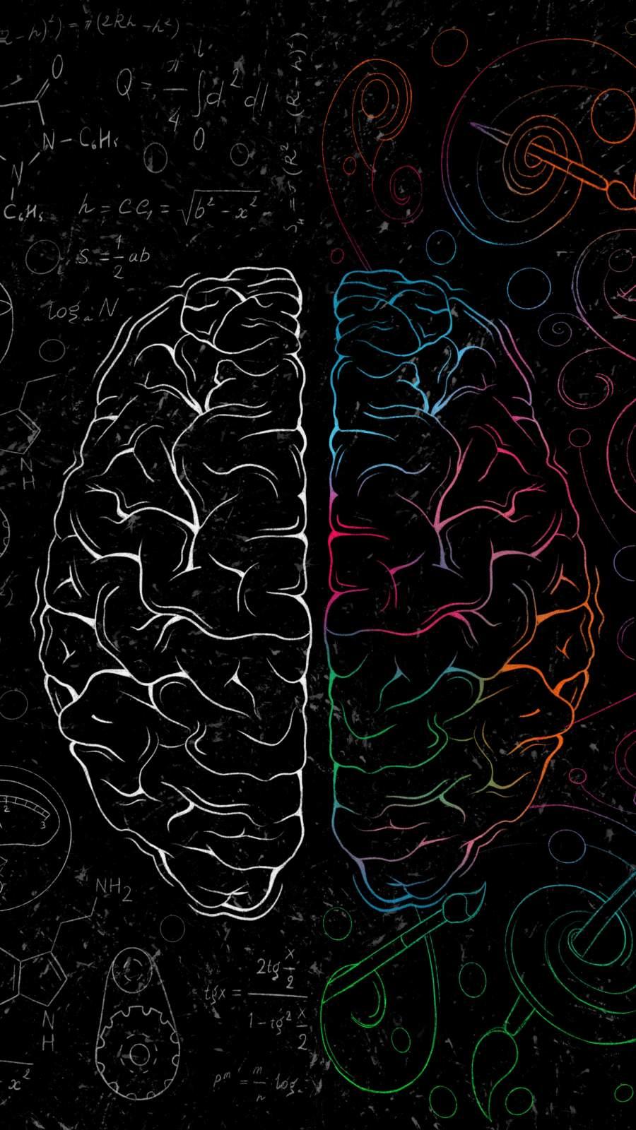 Brain Power iPhone Wallpaper