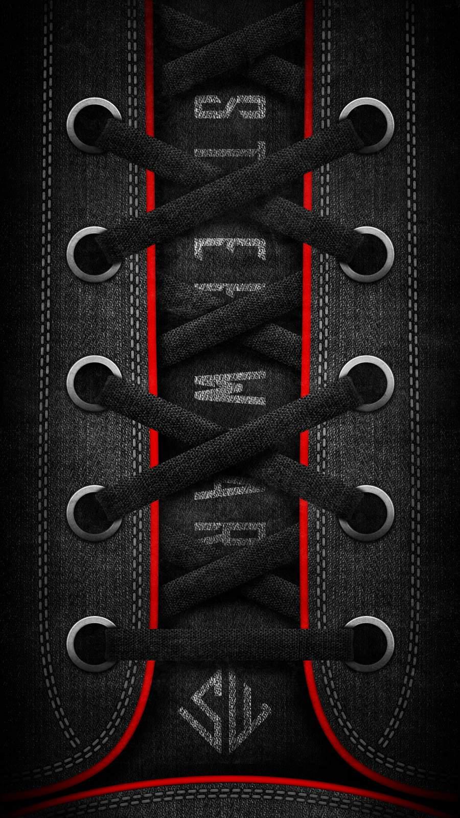 Canvas Shoe iPhone Wallpaper