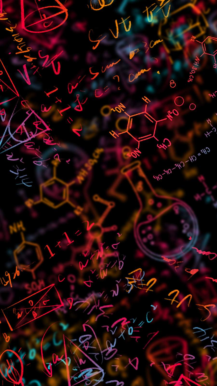 Chemistry iPhone Wallpaper